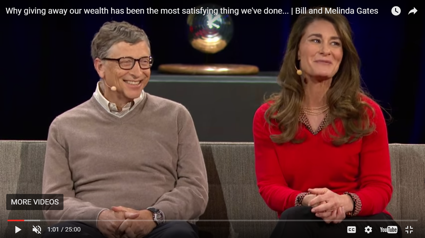 Bill And Melinda Gates Why Giving Away Our Wealth Has